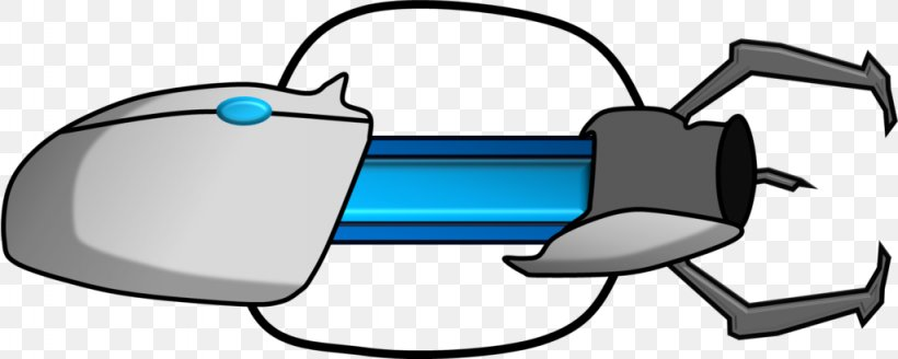 Portal 2 Firearm Clip Art Png 1024x410px Portal Chell