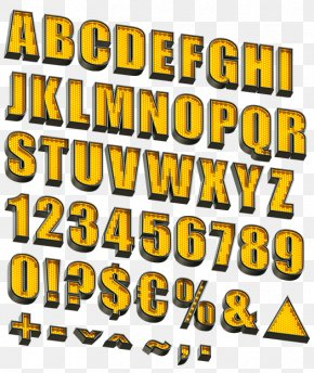Letter Case Alphabet Font - Alphabet Letter Typography Font PNG