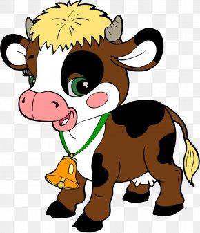 Clarabelle Cow - Farm Goat Cattle Clip Art PNG