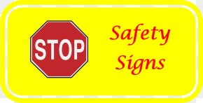 Stop Sign Printable - Traffic Sign Stop Sign Safety Clip Art PNG