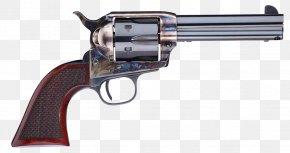Wagon Barrel - .45 Colt Colt Single Action Army A. Uberti, Srl. Firearm Revolver PNG