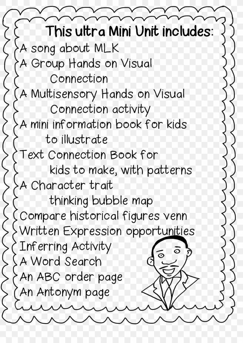 - Free Martin Luther King Worksheets Azspringtrainingexperience