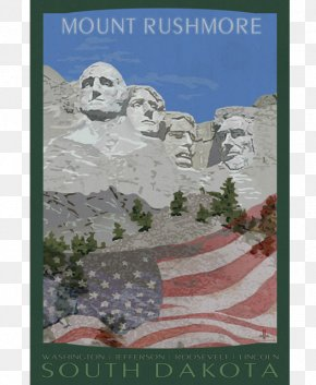 Mount Rushmore - Mount Rushmore National Memorial Crazy Horse Memorial Badlands National Park Sculpture Black Hills National Forest PNG