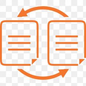 Orange File Sharing - Orange Background PNG