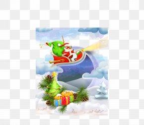 Vector Santa Claus - Santa Claus Euclidean Vector PNG