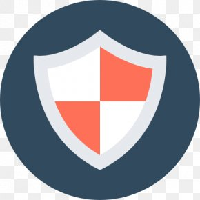 Flat Shield - Data Security Computer Network Shared Resource PNG