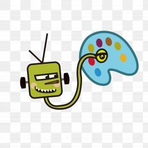 Robot - Computer Graphics PNG