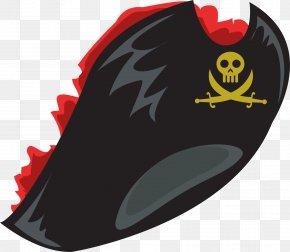 Vector Painted Pirate Hat - Piracy Vector Navio Pirata PNG