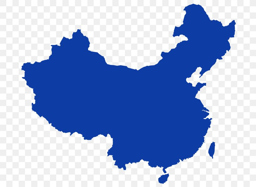 China World Map Blank Map Png 706x600px China Blank Map Blue Crossstrait Relations Flag Of China