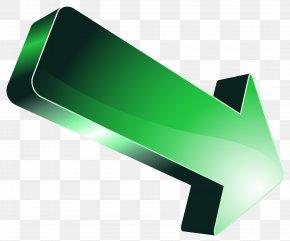 Green Arrow Transparent Clip Art Image - Green Arrow Icon PNG