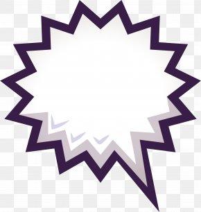 Purple Sawtooth Blasting Stickers - Icon Design Symbol Iconfinder Icon PNG