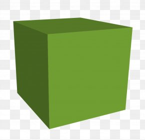 Cube Photos - Square Angle Green PNG