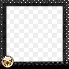 Polka Dot Border - Borders And Frames Picture Frame Polka Dot Clip Art PNG