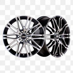 Alloy Wheel - CSA Alloy Wheels Car Spoke Tire PNG