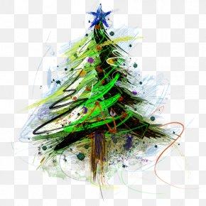Christmas Tree - Christmas Tree New Year Tree Christmas Ornament PNG