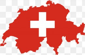 Switzerland - Flag Of Switzerland Flag Of Switzerland Map National Flag PNG
