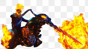 Ghost Rider Face Clipart - Ghost Rider Johnny Blaze Film Clip Art PNG