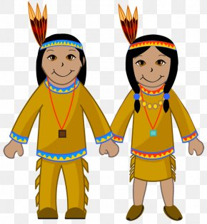 Indian Clothing Cliparts - Native Americans In The United States Clip Art PNG