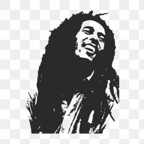 Bob Marley - Bob Marley Bumper Sticker Wall Decal PNG