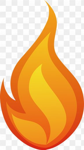 Flame Hand Painted Vector - Flame Fire Clip Art PNG
