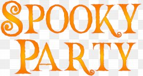 Spooky Party Clip Art Image - Image File Formats Lossless Compression Raster Graphics PNG