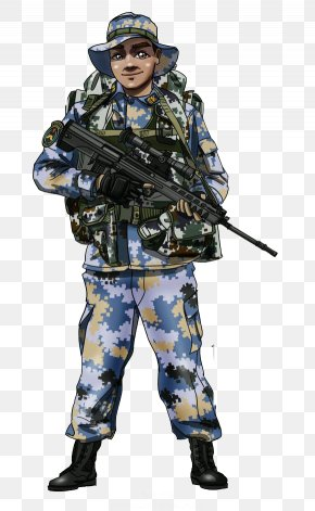 Special Forces Backpack Creative Guns - Soldier Infantry Special Forces PNG