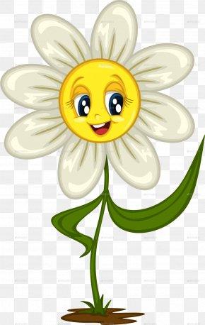 Daisy - Budding Sapling Common Daisy Clip Art PNG