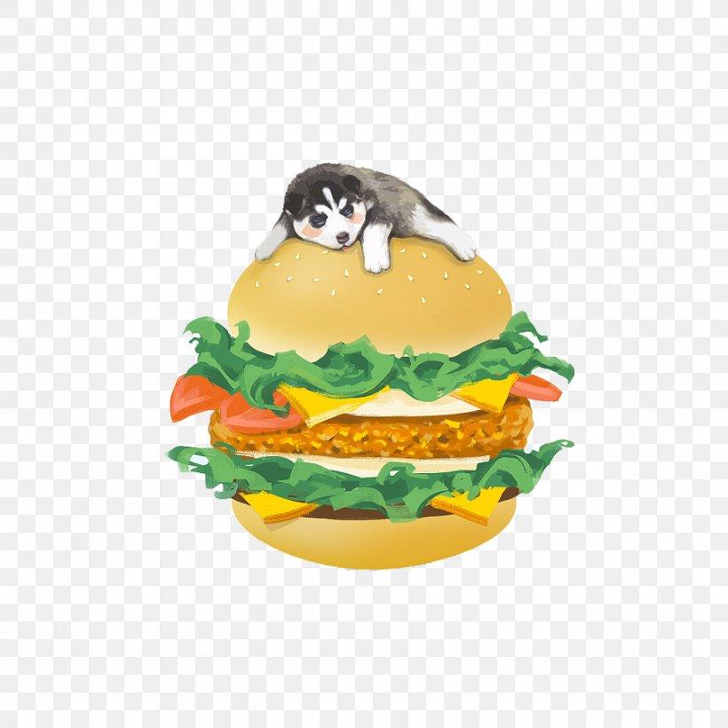 Siberian Husky Hamburger Cartoon Png 900x900px Siberian Husky Cartoon Dog Fast Food Food Download Free
