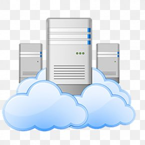 Cloud Computing - Cloud Computing Data Center Cloud Storage Web Hosting Service Computer Servers PNG