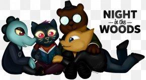 Night In The Woods Art - Night In The Woods Fan Art DeviantArt Cartoon PNG