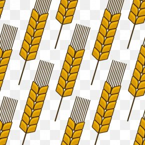 Scattered Wheat - Wheat Ear Cereal Agriculture PNG