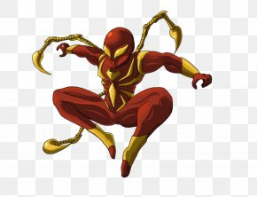 Iron Spiderman Photo - Spider-Mans Powers And Equipment Iron Man Rhino Iron Spider PNG