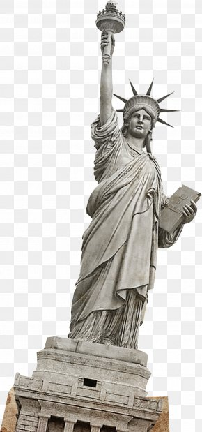 Statue Of Liberty - Statue Of Liberty One World Trade Center Landmark PNG