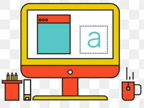 Hand Drawn Computer Material - Computer Download Icon PNG