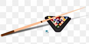 Pool Stick Clipart - Billiards Billiard Ball Pool Cue Stick Clip Art PNG