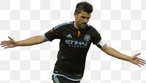 David Villa Photos - New York City FC FC Barcelona Melbourne City FC PNG
