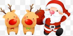 Christmas Santa Claus Vector Material - Santa Claus Christmas Vecteur PNG