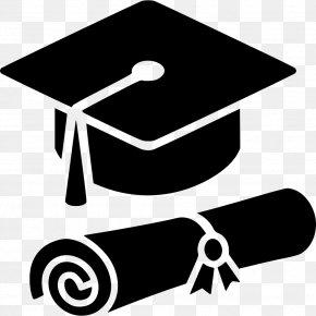 Graduation - Square Academic Cap Graduation Ceremony Diploma PNG