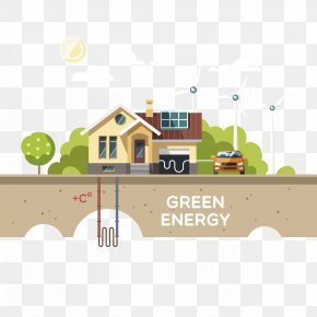 Solar Wind Energy Saving Design - Renewable Energy Solar Energy Wind Power Solar Power PNG