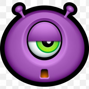 Monster, Monsters, Sad, Smiley, Smiley Face Icon - Emoticon Smiley Monster Clip Art PNG