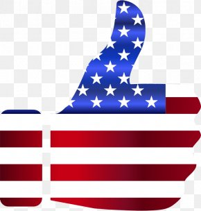 American Flag - Flag Of The United States Thumb Signal Clip Art PNG