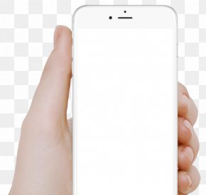 HD Big Picture Phone White Micro-channel Two-dimensional Code - Smartphone Web Page Hand World Wide Web PNG
