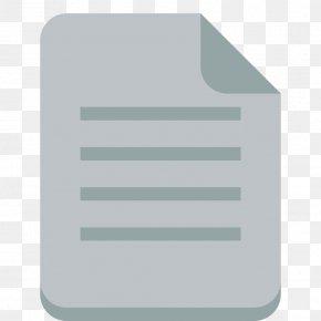 File Text - Angle Aqua Line PNG