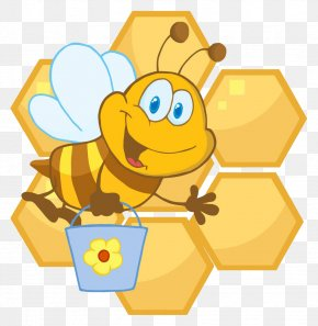 Bee Pail - Bee Birthday February 22 Holiday Gift PNG