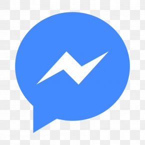 Facebook Chat Logo - Social Media Facebook Messenger Logo PNG