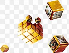 Creative Custom Shape Cube - Shape Cube PNG