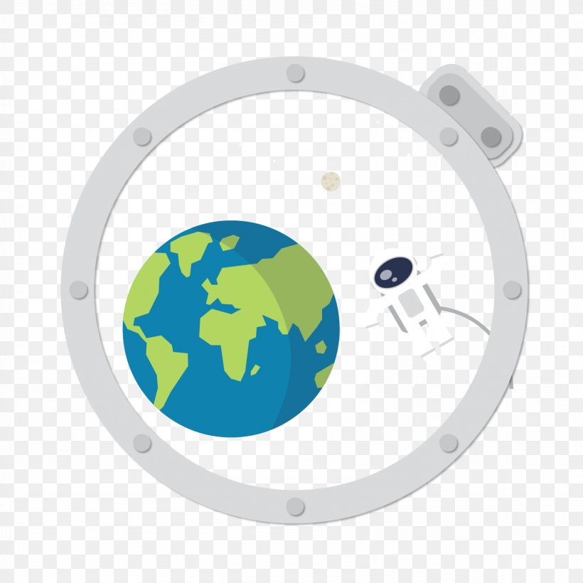 Earth Astronaut Outer Space Extravehicular Activity, PNG, 1667x1667px, Earth, Astronaut, Element, Extravehicular Activity, Flat Design Download Free