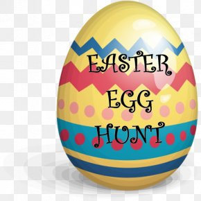 Easter Egg Hunt - Red Easter Egg Clip Art PNG