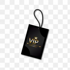 VIP Tag Vector Image - Euclidean Vector Vecteur Computer File PNG