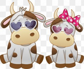 Cow Funny - Clip Art Openclipart Vector Graphics Animal Illustrations Image PNG